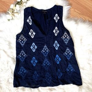 Lucky Brand Sleeveless Top Medium